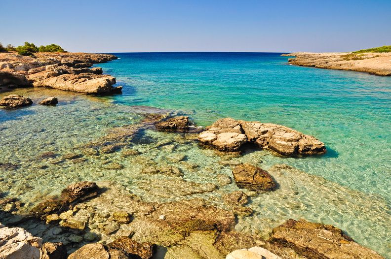 La spiaggia di Porto Selvaggio: Mare e natura incontaminata