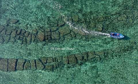 La strada sotto il mare: a Porto Cesareo tracce d'antichità