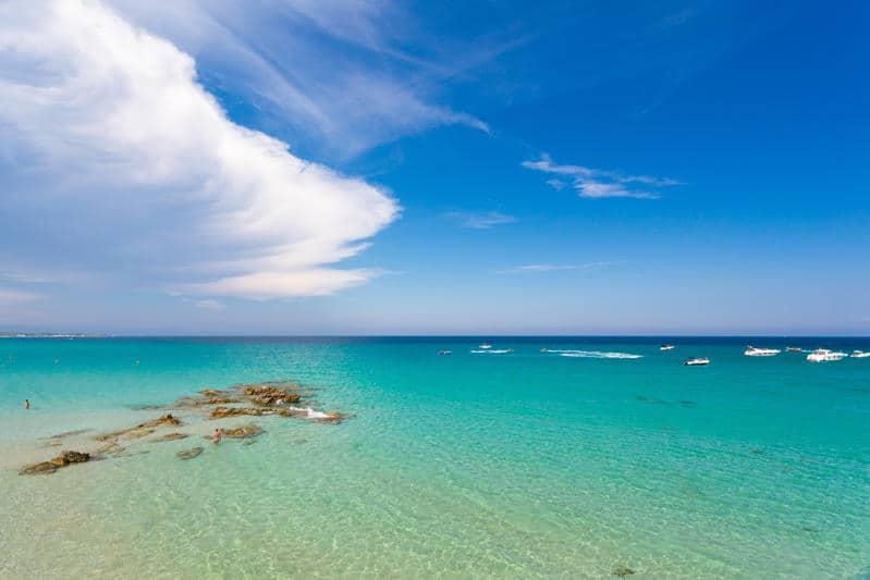 Il paesaggio leggendario della Baia dei Turchi