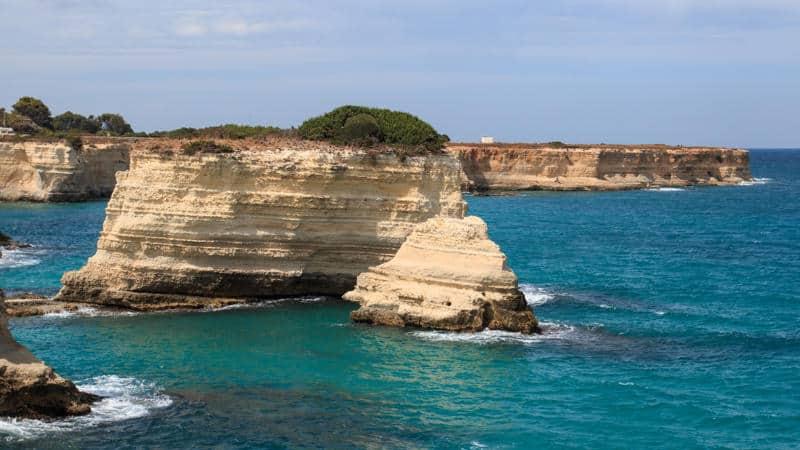 Torre Sant'Andrea premiata come una delle 15 spiagge più belle d'Italia