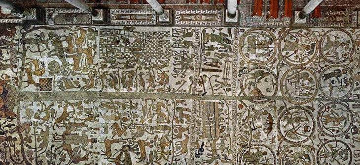 Il maestoso Mosaico Monumentale della Cattedrale di Otranto