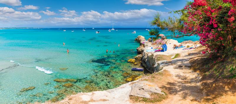 Un paradiso a Otranto: la Baia dei Turchi