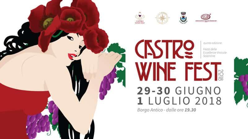 V edizione Castro Wine Fest: ecco tutte le info sull'evento