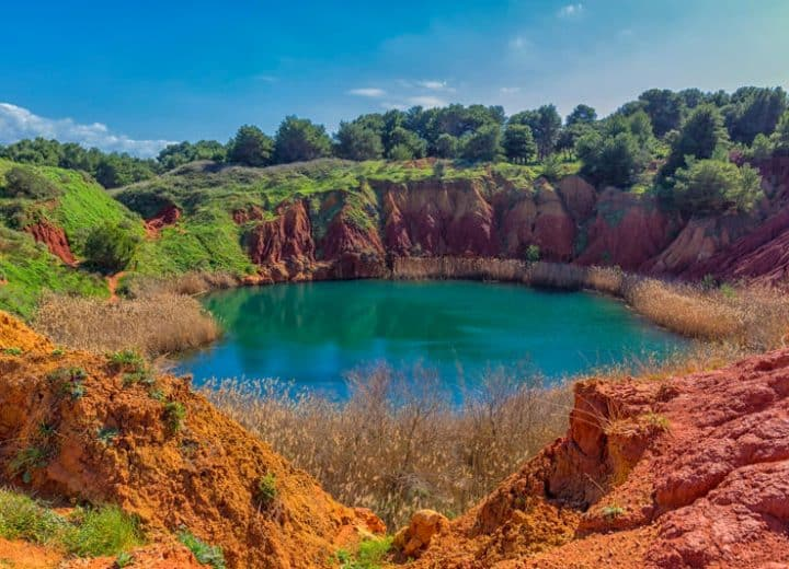 Escursioni in Salento: scopriamo le Cave di Bauxite a Otranto