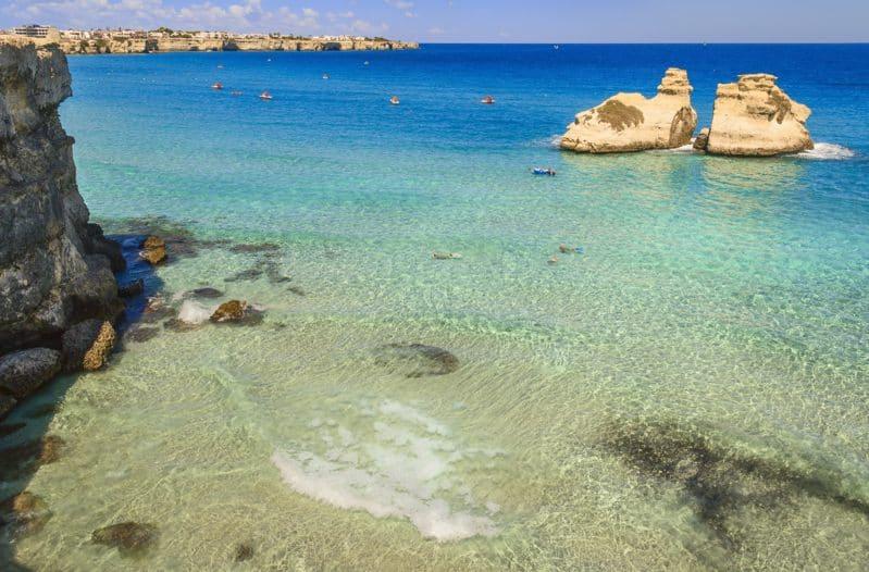 Le località balneari più belle della costa salentina