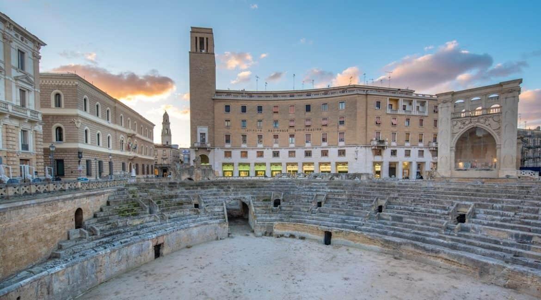 L'Anfiteatro Romano, in pieno centro a Lecce