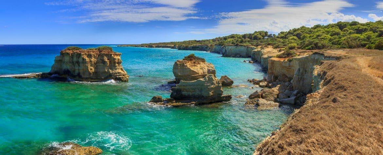Il mare più bello a Torre Sant'Andrea: conquistate le 5 Vele di Legambiente
