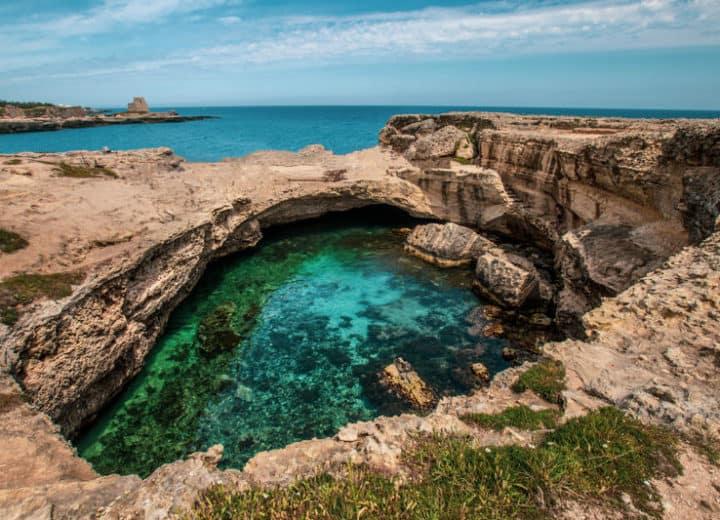 La grotta della Poesia, uno dei gioielli del Salento