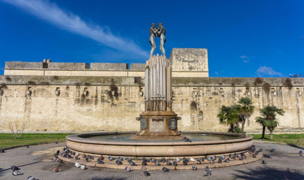 """Lecce la sua """"Fontana dell'Armonia"""""""